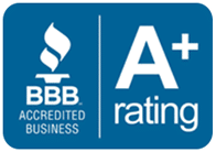BBB Rating Icon - Tom's Plumbing and Drain Service, LLC
