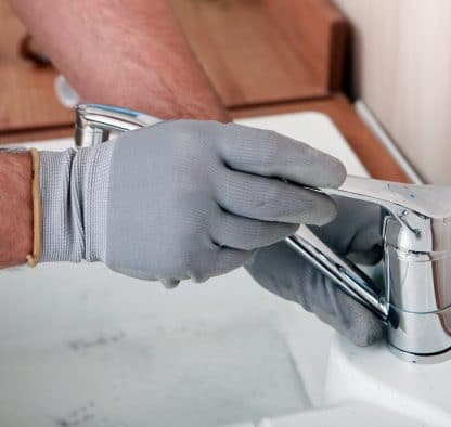 fixing sink faucet
